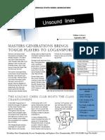 ISCA Unsound Lines Vol. 1, No. 2 Sep 2007