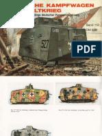 Waffen Arsenal - Band 112 - Deutsche Kampfwagen im 1. Weltkrieg - Der A7V und die Anfänge deutscher Panzerentwicklung