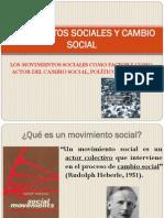 18. Movimientos Sociales y Cambio Social