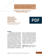 2008 Patokinesiología Un Modelo Para El Estudio de La Disfunción Del Movimento. (Spanish) Revista Académica de La Universidad Católica Del Maule