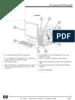 Desktop HP DC5750