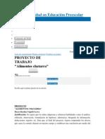 Wiki Actualidad en Educación Preescolar