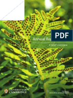 Annual Report Brief Overview