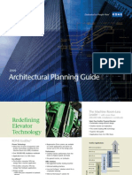 KONE 2009 Architecturall Planning Guide