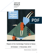 2013 Festival of Ideas Evaluation Compendium