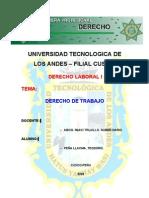 Universidad Tecnologica de Los Andes - Derecho Laboral