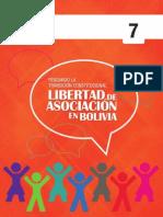 Libro Libertad de Asociación en Bolivia