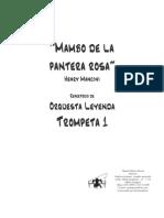 Mambo de La Pantera Rosa Trompeta 1