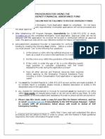 vip procedures -2014