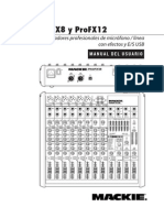Mackie ProFX 8-12