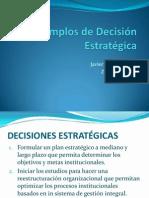 Tarea 01 Ejemplos de Decisiones Estratégicas