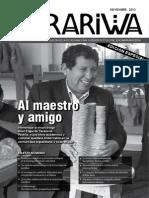 Revista ARARIWA Año 8 Numero 12 Noviembre 2013 Dirección de Investigacion ENSFJMA