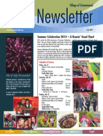 Streamwood Newsletter, July 2014