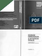 Pdf interior space human dimension