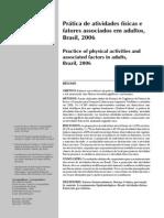 Atividade Fisica de Adultos e Jovens