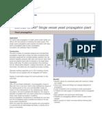 SCANDI BREW Single Vessel Yeast Propagation Plant