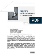 Lib Arts Advantages