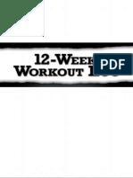 12 Week Workout Log