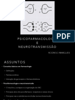 Psicofarmacologia e Neurotransmissão