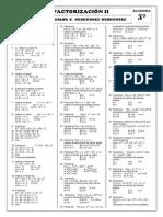 Alg - 5to - Factorización II