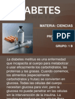 DIABETES Secundaria