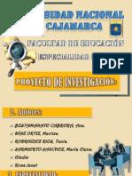 Diapositivas de Investigacion Exposicion