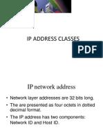 Ip Address Classes - Copy