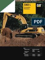Catalogo Excavadora Hidraulica 336dl Caterpillar
