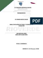 Manual de Instalacion Netbeans 6.71. POSTGRESQL -8.4.1 Y APACHE2 PHP5