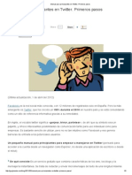 Manual Para Principiantes en Twitter