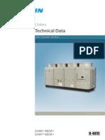 Daikin Chiller (EUWA-KBZW1) Air Cooled Technical Data Book