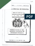 RS. 216768 - Sistema Nacional de Inversión Pública