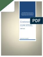 Parcial Contenedores CGM STEEL- 1