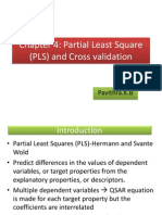 PLS and Cross Validation