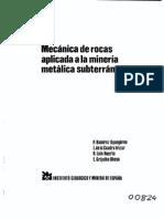 IGME - Mecánica de Rocas en Minería Metálica Subterránea [1991][1]