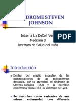 Síndrome Steven Johnson en pediatria 2009
