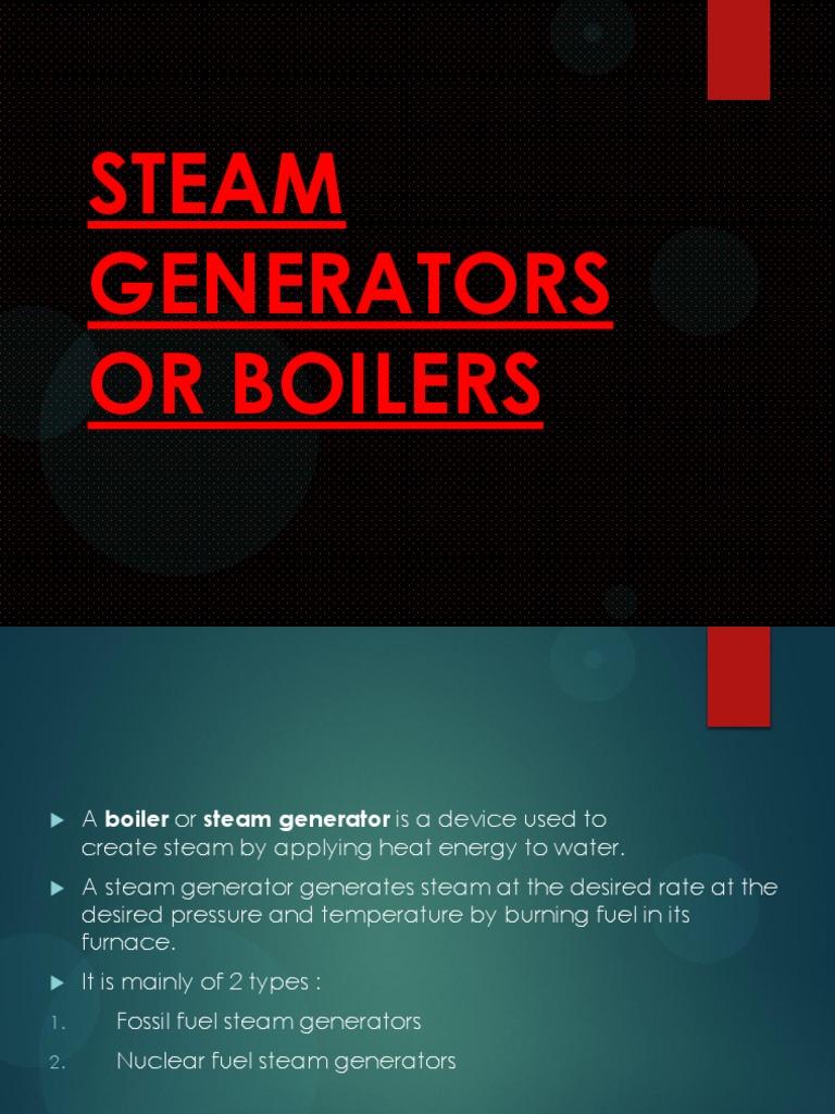 Boilers | Boiler | Steam