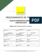 f02 Plan de Emergencia Obras de Construccion
