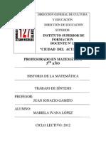 2012 Lopez Historia Matem