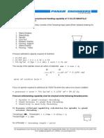 Manifold Design Calculations
