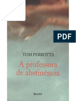 A Professora de Abstinencia Tom Perrotta