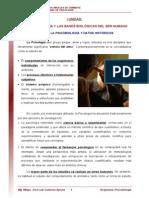 01 Psicobiologia y Subdiciplinas Psicobiologicas Lectura