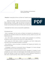 PASSAGEM DE NÍVEL NA RUA CAULOUSTE GULBENKIAN