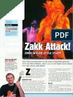 Zakk Wylde Lead Guitar