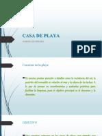 Proyecto Casa de Playa 3