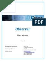 Observer User Manual