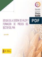 Estudio_pan Cadenas de Valor España