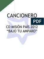 Cancionero CD 2012 (Ix)