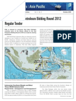 2nd Indonesian Petroleum Bidding Round 2012 Regular Tender