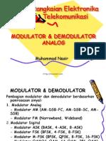 Modulator Dan Demodulator Analog